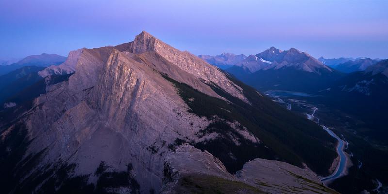 Ha Ling Peak, Canmore, Alberta, Canada