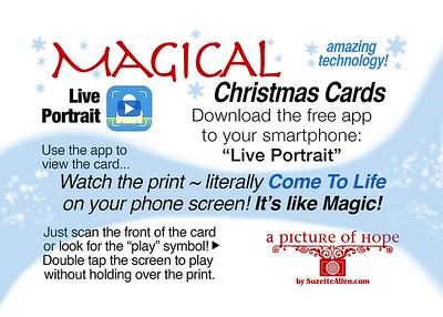 MAGIC christmas card wallet