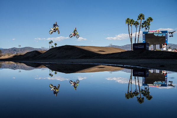 James Stewart and Ken Roczen - Action