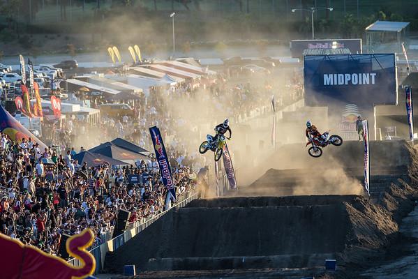 James Stewart, Justin Brayton - Red Bull Straight Rhythm in Pomona, California