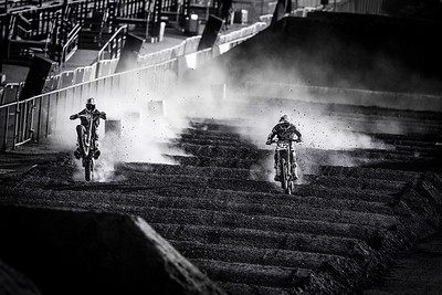 Marvin Musquin and Justin Hill - Action