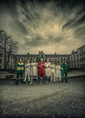 Brann - Haukeland sykehus