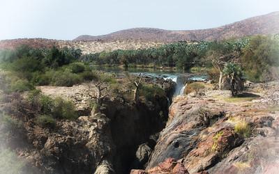 Epupa Falls - Kunene river