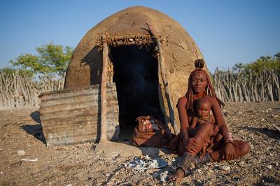 Himba houses