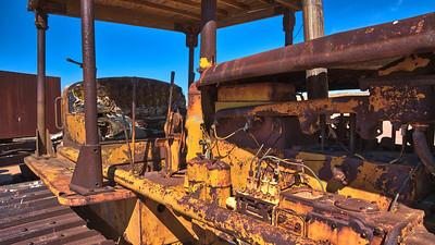 Abandoned bulldozer  - Moshe Kahn