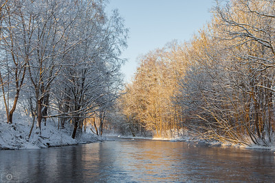 Winter at the Keila river