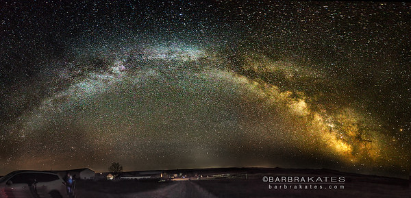 Milky Way in North Dakota