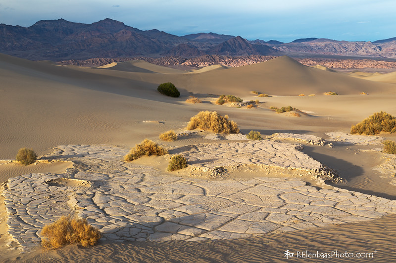 Mesquite Flat Sand Dunes Sunset III