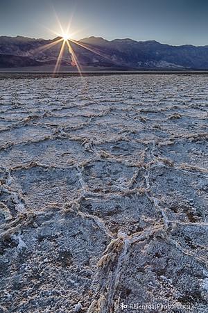 Badwater Basin Sunrise X