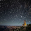 Star Trails Over the Watch Tower