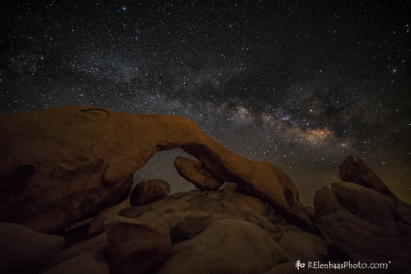 Arch Rock Milky Way