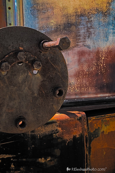 Oxidation...aka rust