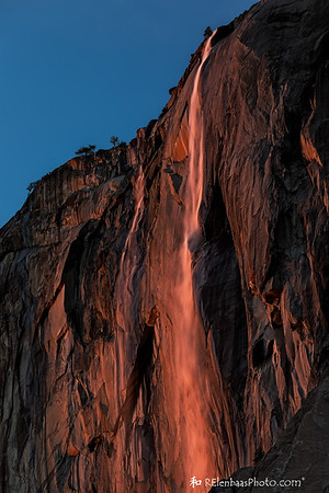 Horsetail Fall Sunset XII