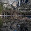 Yosemite Falls Reflection IV