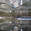 Yosemite Falls Reflection I