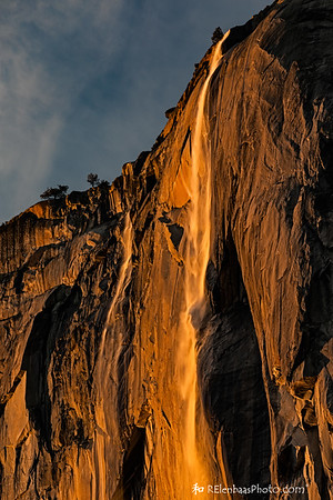 Horsetail Fall Sunset XI