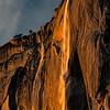 Horsetail Fall Sunset XI