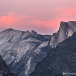 Half Dome Sunset IV