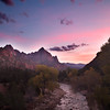 Watchman Sunset I
