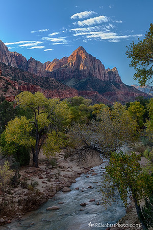 First Light on the Watchman
