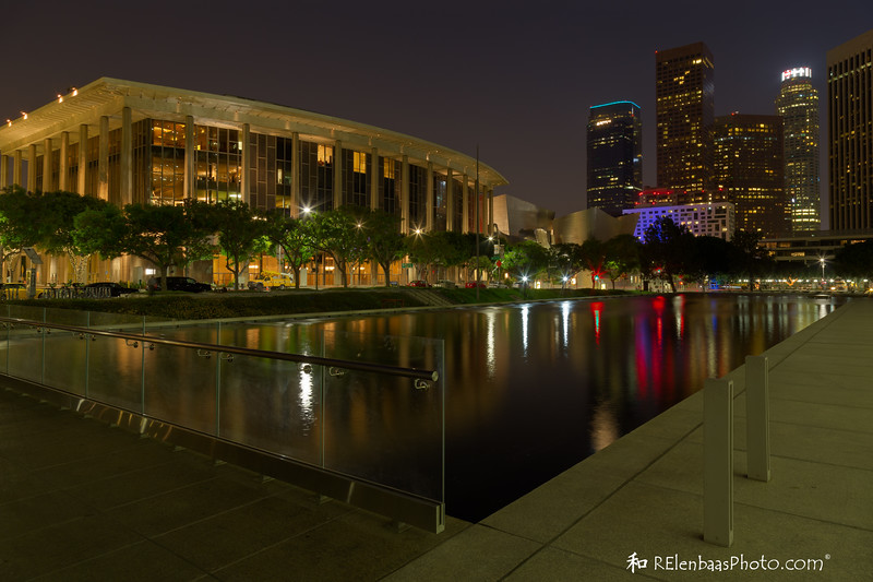 Chandler Pavilion and Los Angeles Skyline II