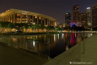 Chandler Pavilion and Los Angeles Skyline II