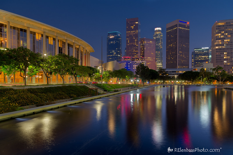 Chandler Pavilion and Los Angeles Skyline I