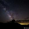 Milky Way Over Cloud's Rest