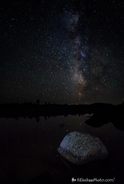 Milky Way Over Bob's Lake