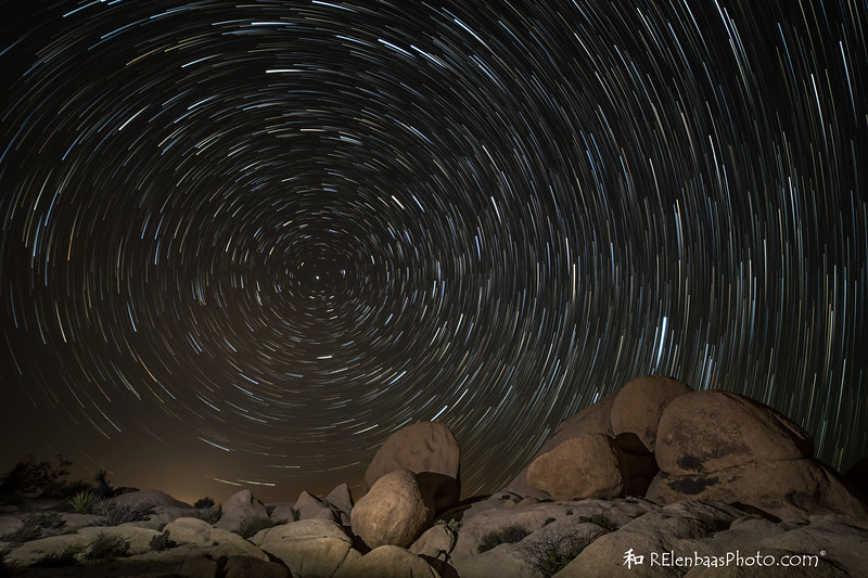 Joshua Tree Startrails I