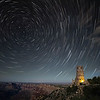 Star Trails Over Desert View