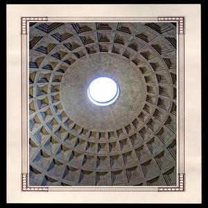 Grande coupole du Panthéon de Rome