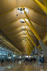 Espagne - Madrid - Barajas Airport - Mars 2008