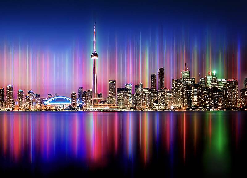 ELECTRIFIED TORONTO SKYLINE