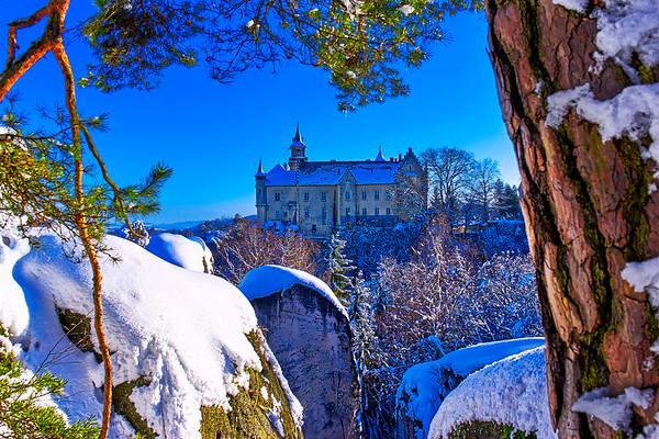 Hrubá Skála Chateau, Bohemian Paradise