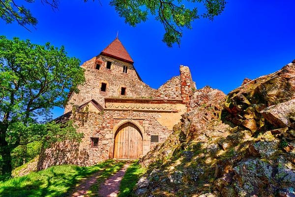 Tocnik castle, Bohemia.
