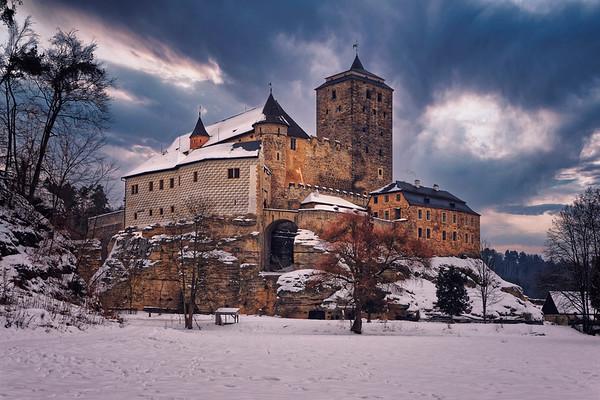 Winter Kost castle