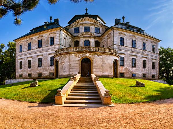 Baroque chateau Karlova Koruna, East Bohemia
