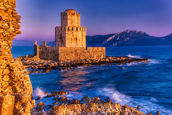Walls of Methoni Fortress