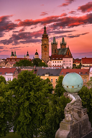 Atlas Guarding the city of Hradec Kralove