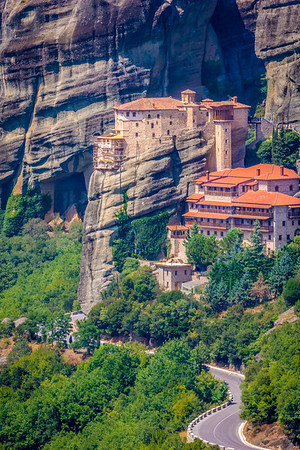Monastery of Rosanou, Meteora, Greece