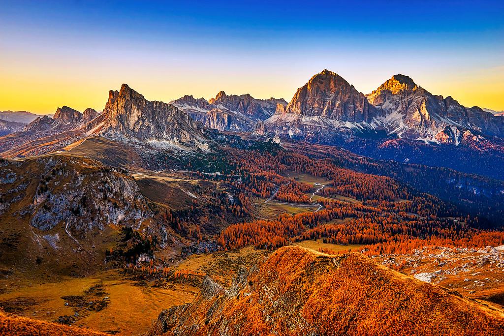 Passo Giau, Dolomites
