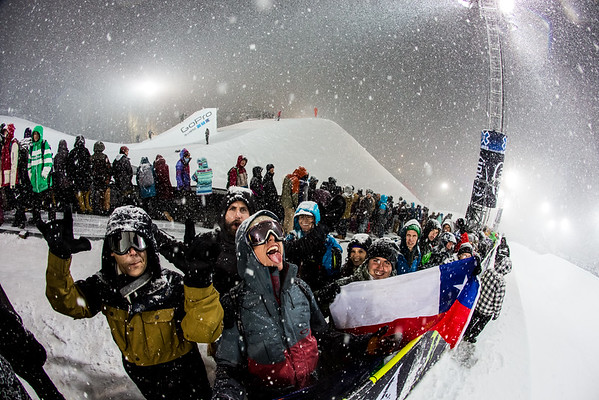 Fans - Winter X Games, Aspen, Colorado