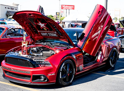 Sept 2015 Car Show at Gold's Gym El Paso, TX