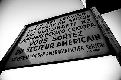 Old U.S. Army sign outside of Berlin