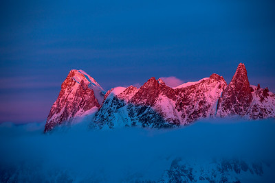 Grand Jorasses - Chamonix, France