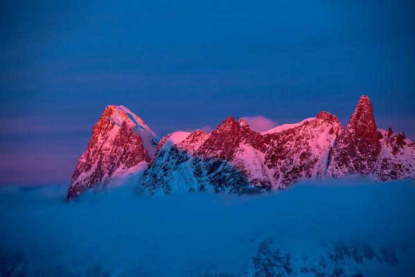 Grand Jorasses - Chamonix, France