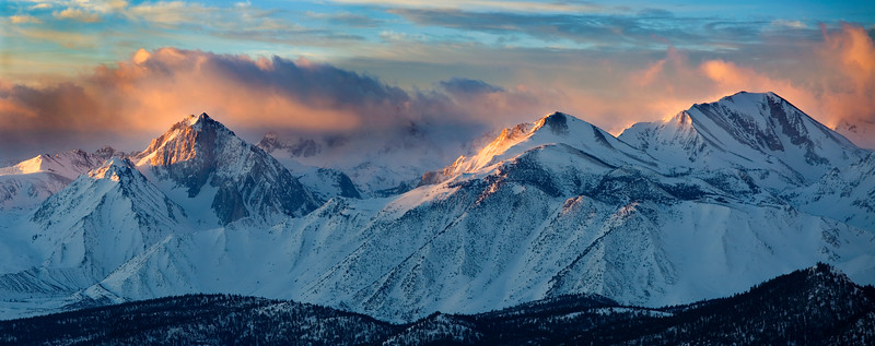 Sierra Nevada Mountains, CA