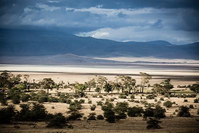 Ngorongoro Crater in Tanzania, Africa