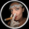Bride smoking a cigar<br /> Denver, Colorado